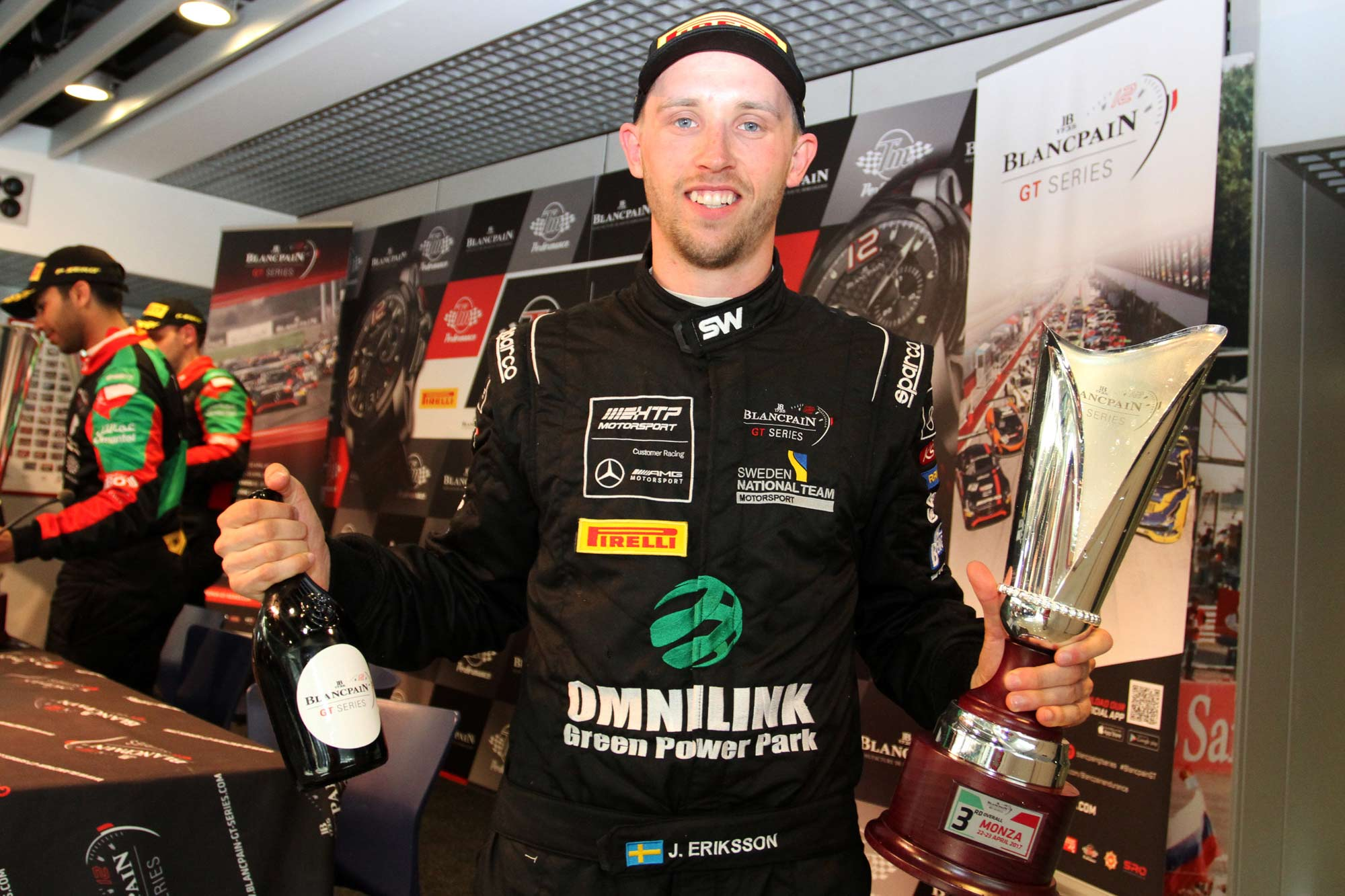Jimmy Eriksson takes second consecutive podium