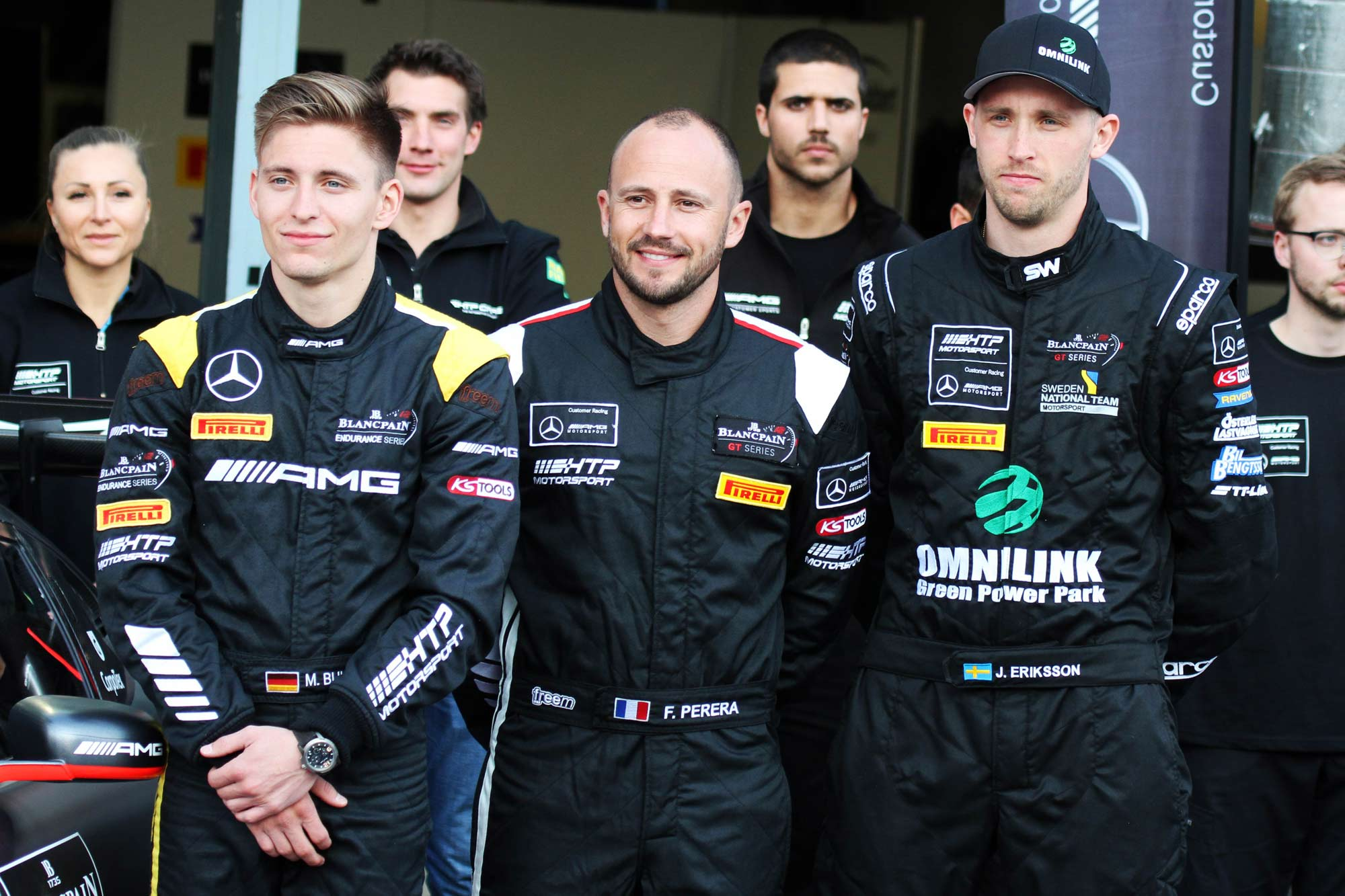 Jimmy ties up with Blancpain GT leaders for Endurance Cup campaign