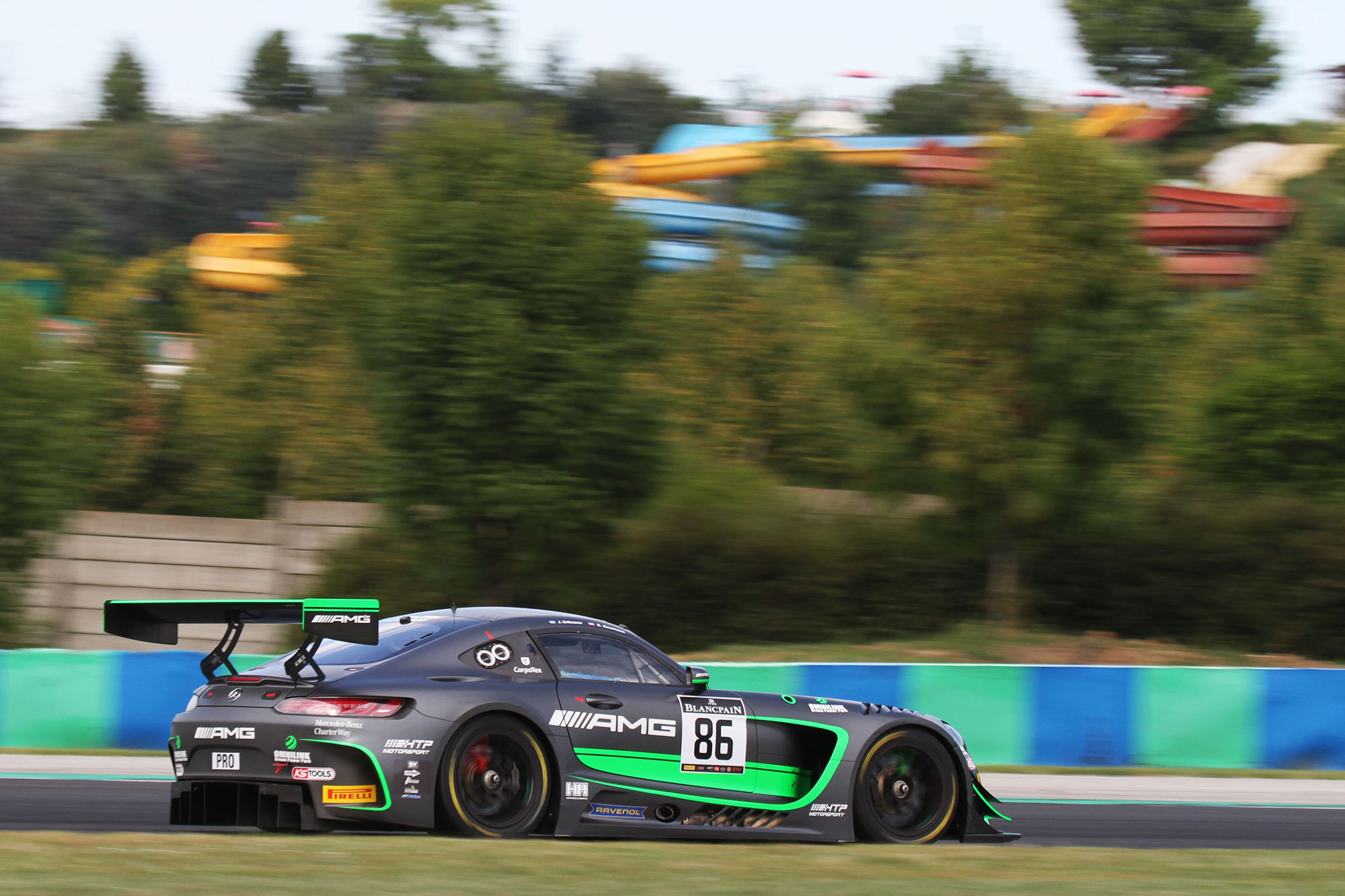 Jimmy Eriksson adds to Blancpain GT Series points tally