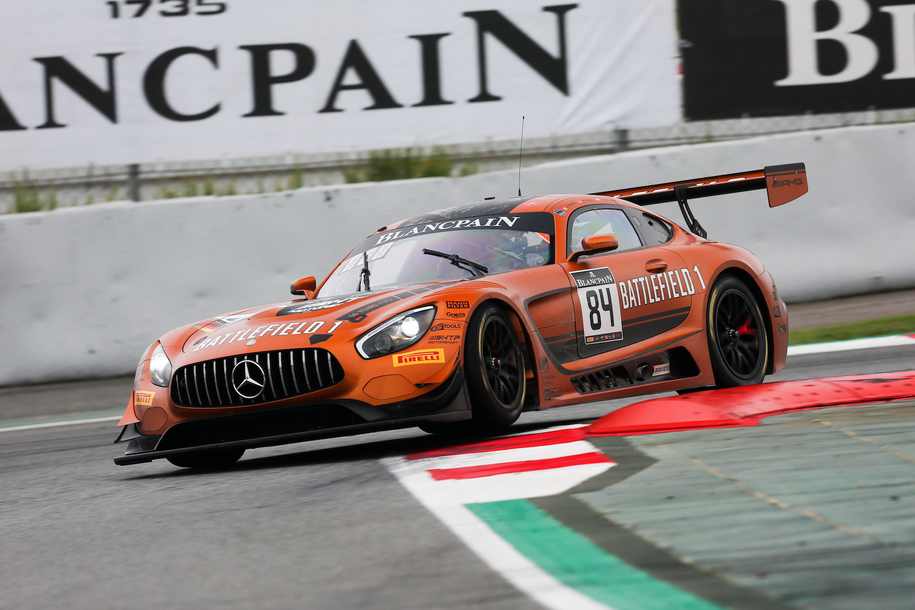 Jimmy Eriksson clinches third overall in 2017 Blancpain GT Series Endurance Cup