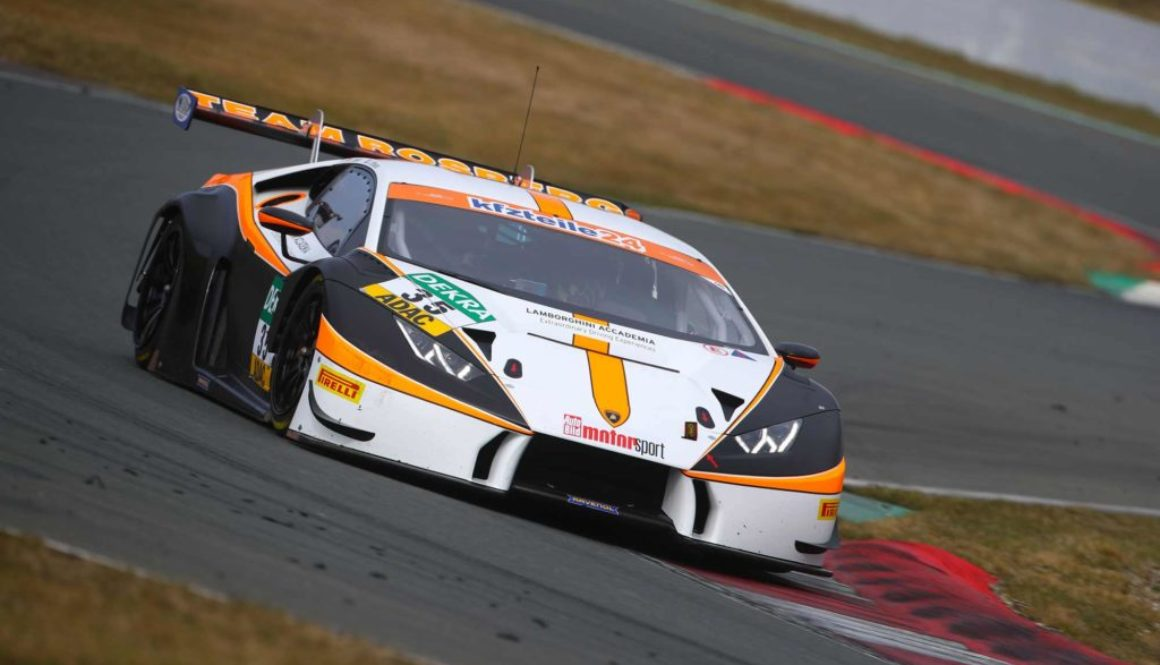 Jimmy Eriksson geared up for ADAC GT Masters season