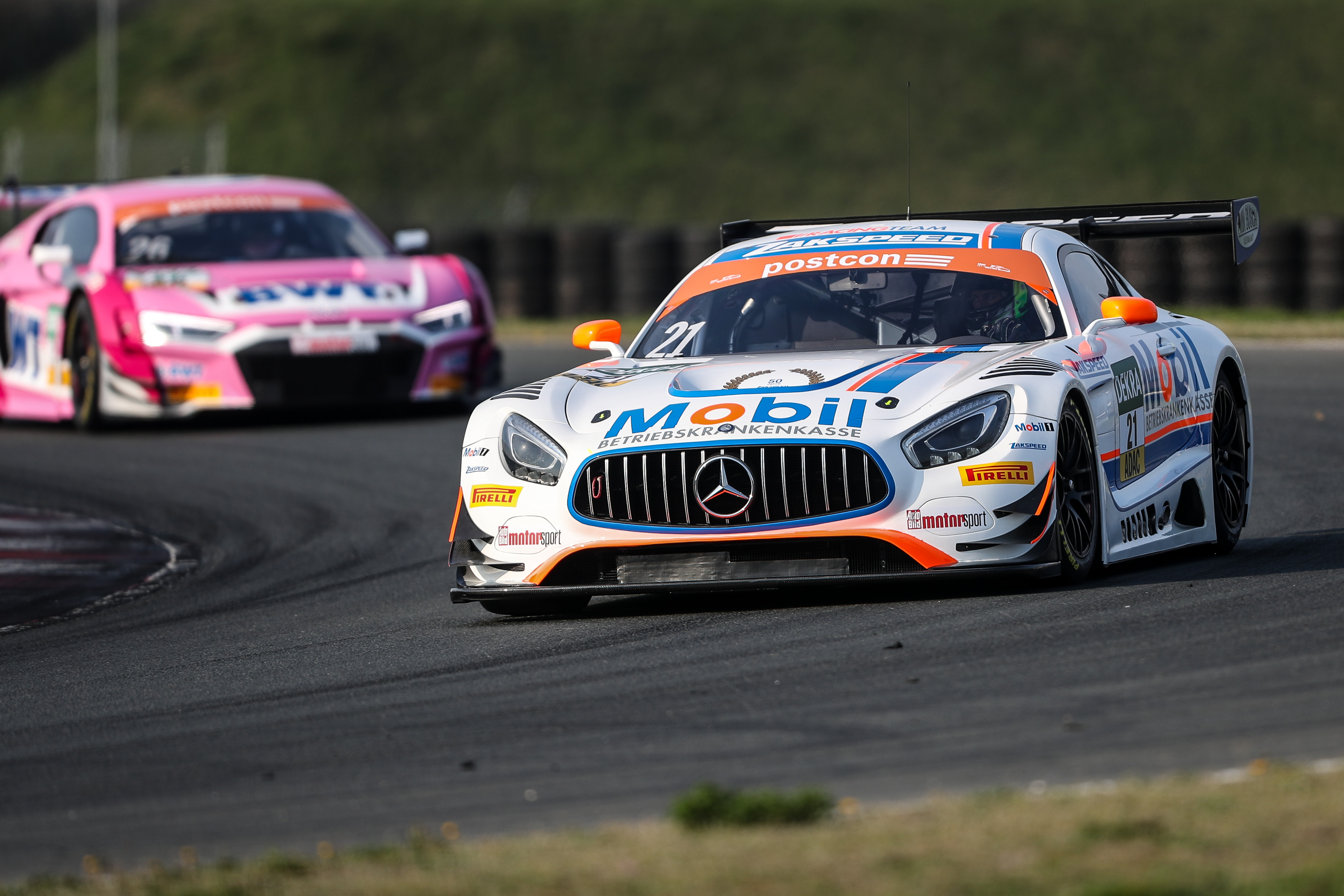 Enthusiastic Jimmy Eriksson relishing fresh start in ADAC GT Masters